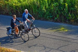 Get in shape and go for a bike ride