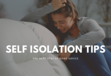 Self isolation tips